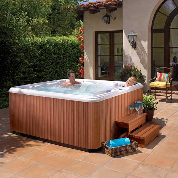 In-Home Hot Tub Consultation Family Image