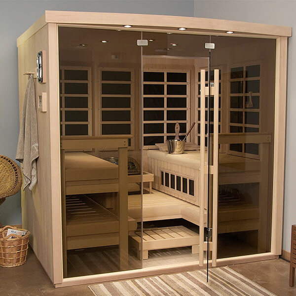 In-Home Sauna Consultation Family Image