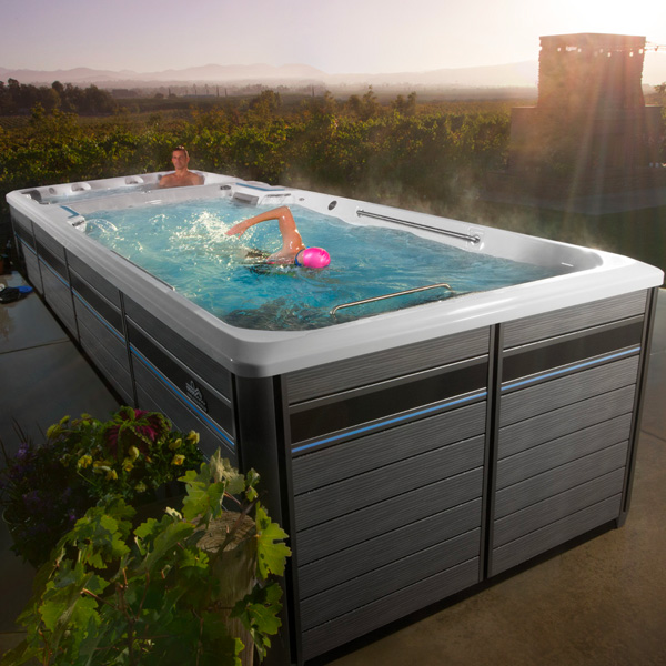 EZ Dual Temp Swim Spa Valet Family Image