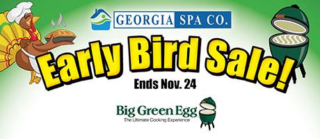 Early Bird Sale: Big Green Eggs