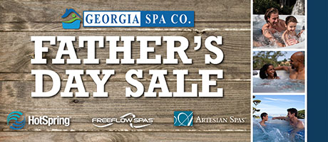 Father's Day Sale: Hot Tubs