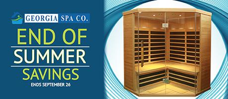 End of Summer Savings Sale: Saunas