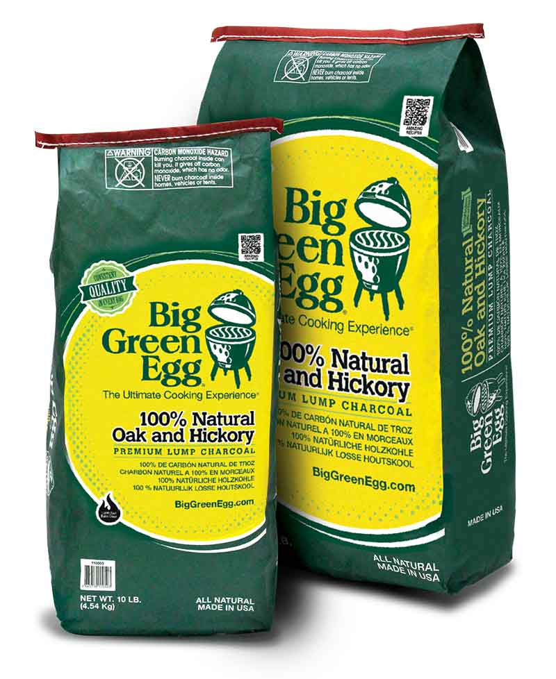 Big Green Egg lump charcoal bags