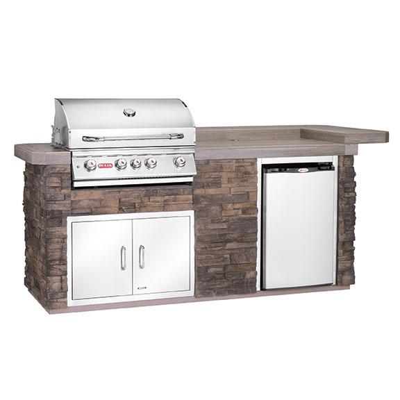 The Blue Ridge Bull Outdoor Kitchen