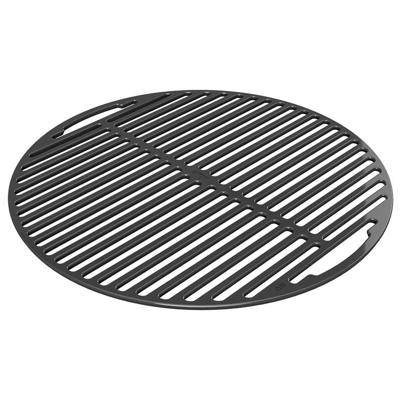 Product detail image of cast iron cooking grid for the Big Green Egg