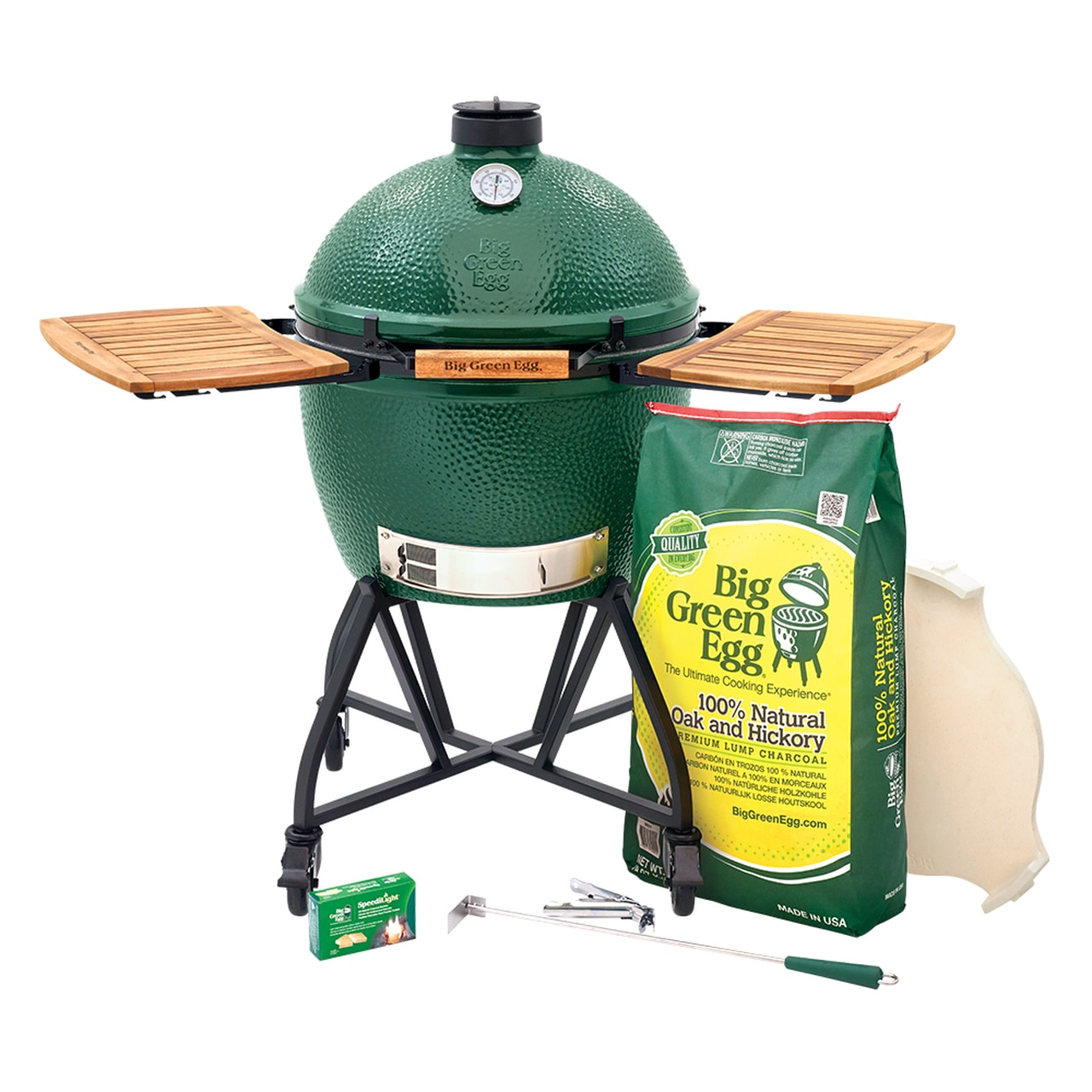 XL Big Green Egg IntEGGrated Nest+Handler with Mates Package