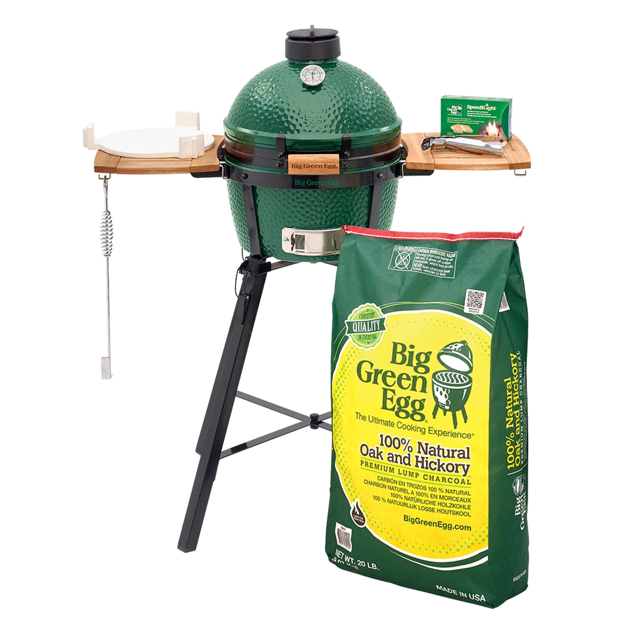 MiniMax Big Green Egg with Nest Package
