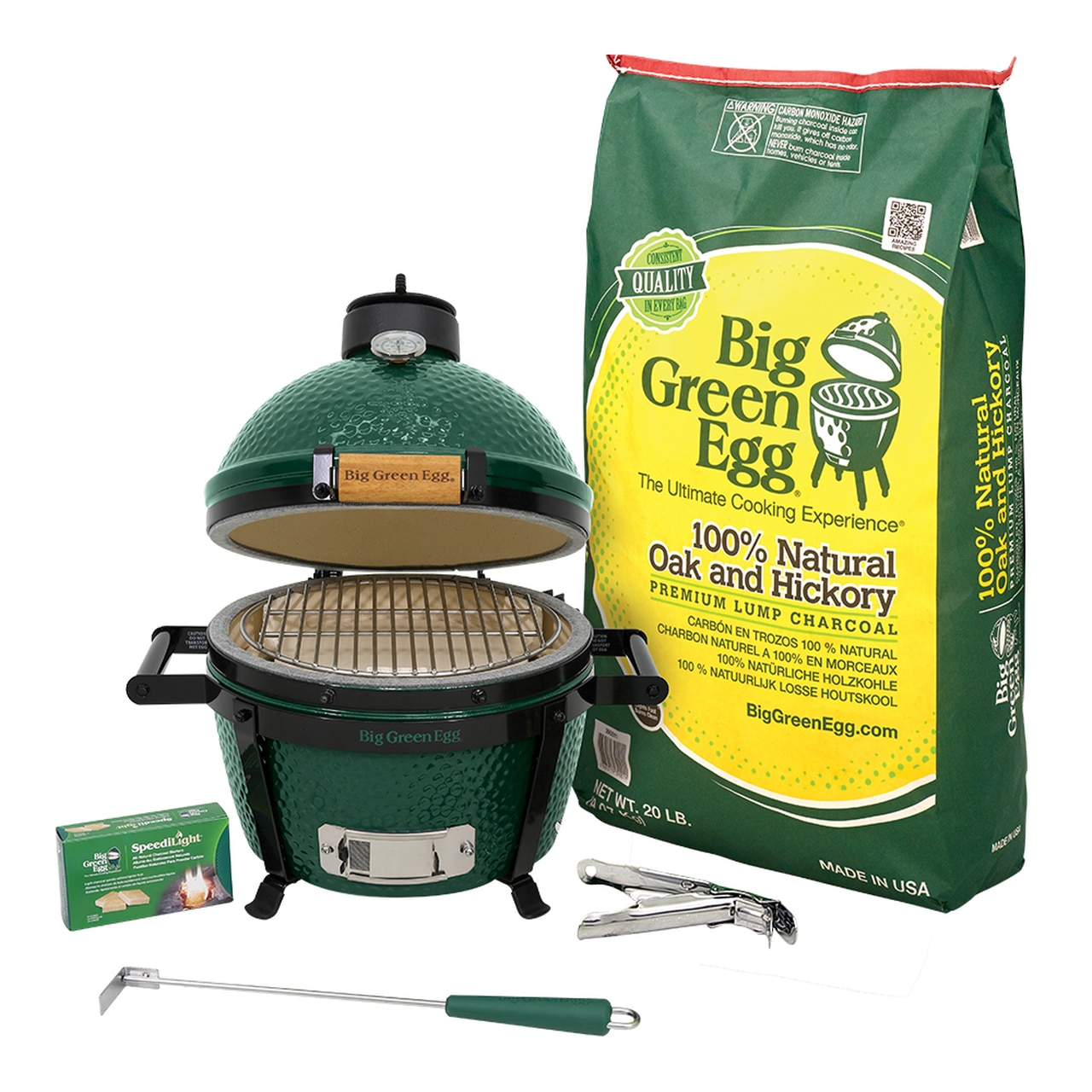 MiniMax Big Green Egg Package