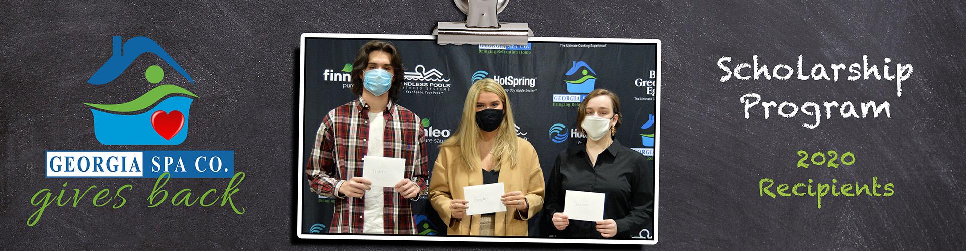 Georgia Spa Gives Back Scholarship Recipients