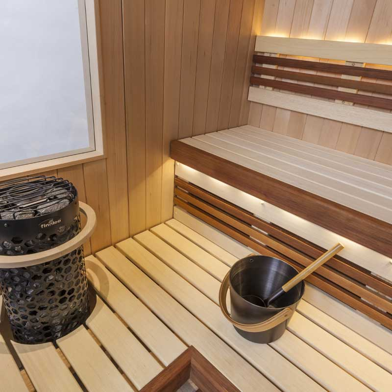 Custom Cut Saunas Family Image