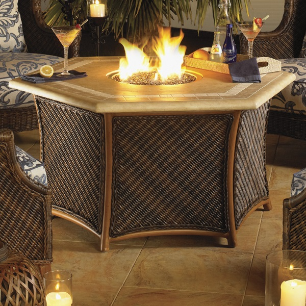 Island Estate Lanai Fire Pit by Tommy Bahama