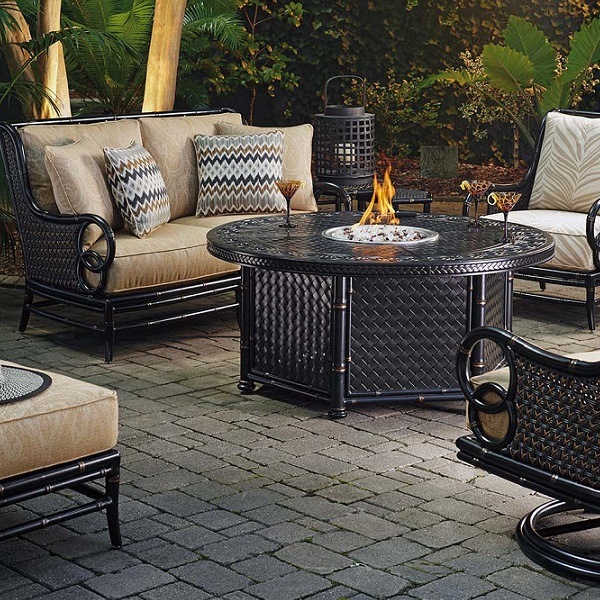Marimba Fire Pit by Tommy Bahama