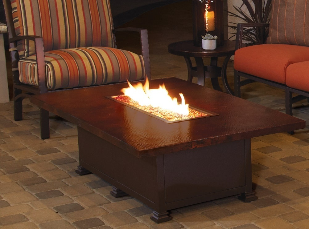 Hammered Copper Fire Pits by O.W Lee