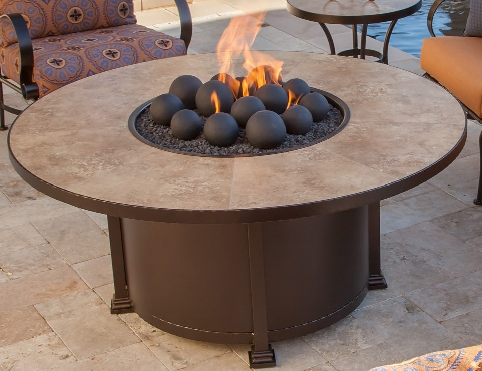 Santorini Fire Pits by O.W. Lee