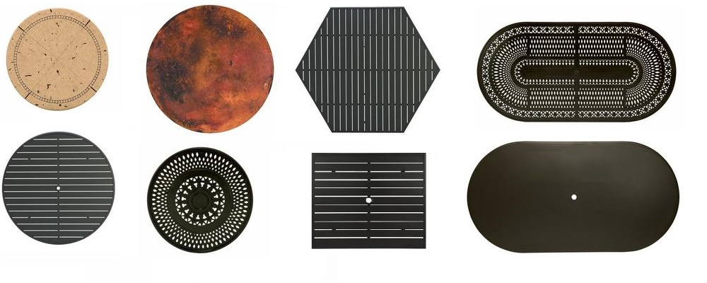 Various Table Tops by Winston