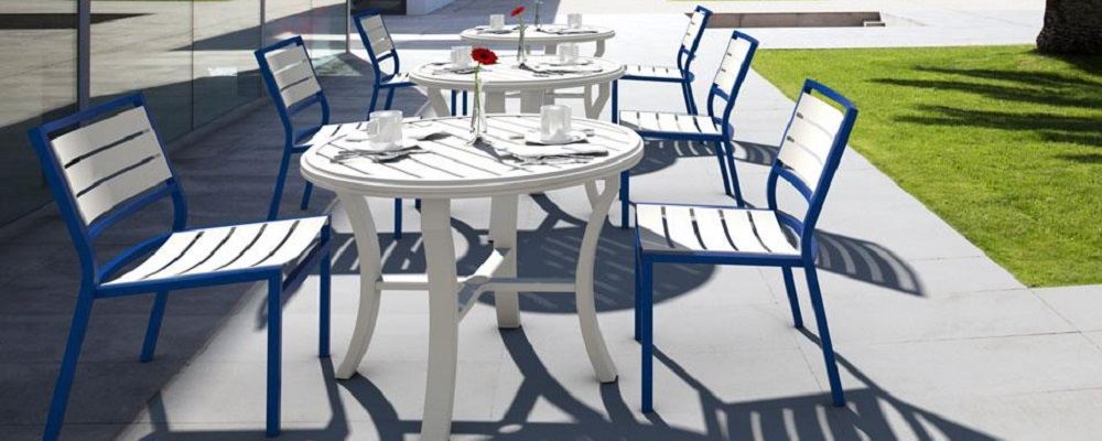 Cabana Club Aluminum Slat Collection by Tropitone