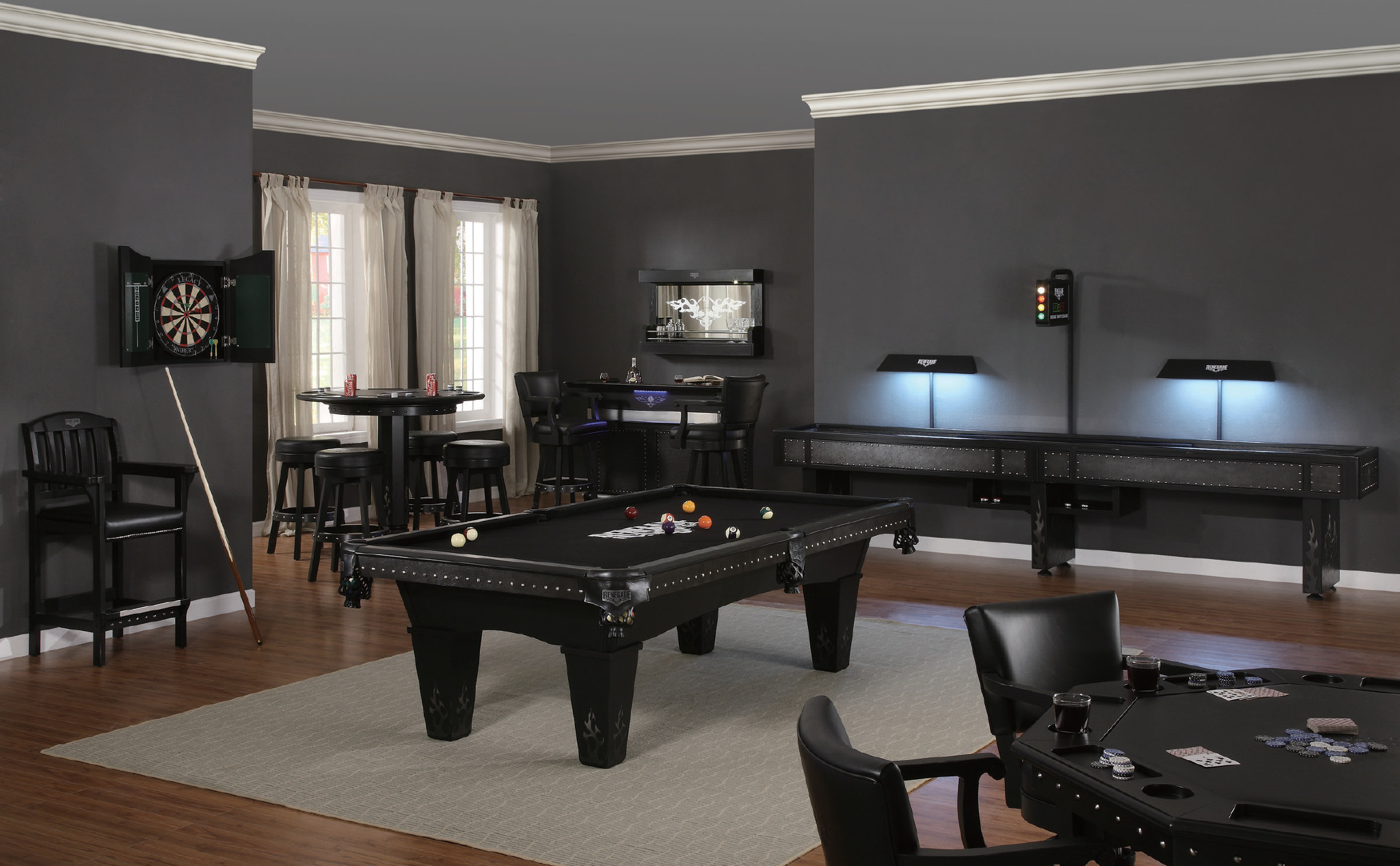 Outlaw Pool Table by Legacy Billiards