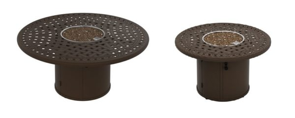 Garden Terrace Fire Pits by Tropitone