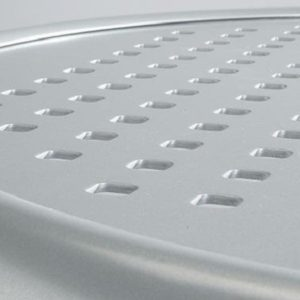 Boulevard Patterned Aluminum Tables by Tropitone