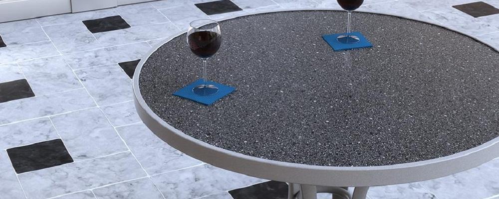 Raduno HPL Tables by Tropitone