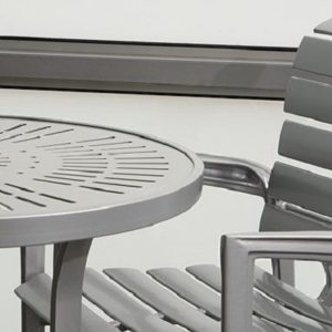 Veer Cast Aluminum Collection by Tropitone