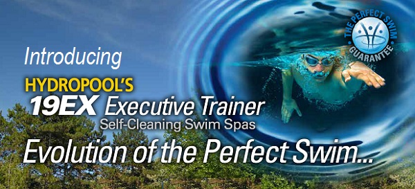 Executive Trainer 19 EX Swim Spas by Hydro Pool