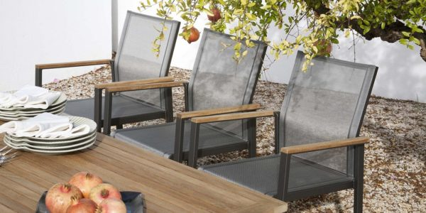 Aura Dining Collection by Barlow Tyrie