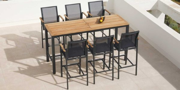 Aura High Dining Collection by Barlow Tyrie