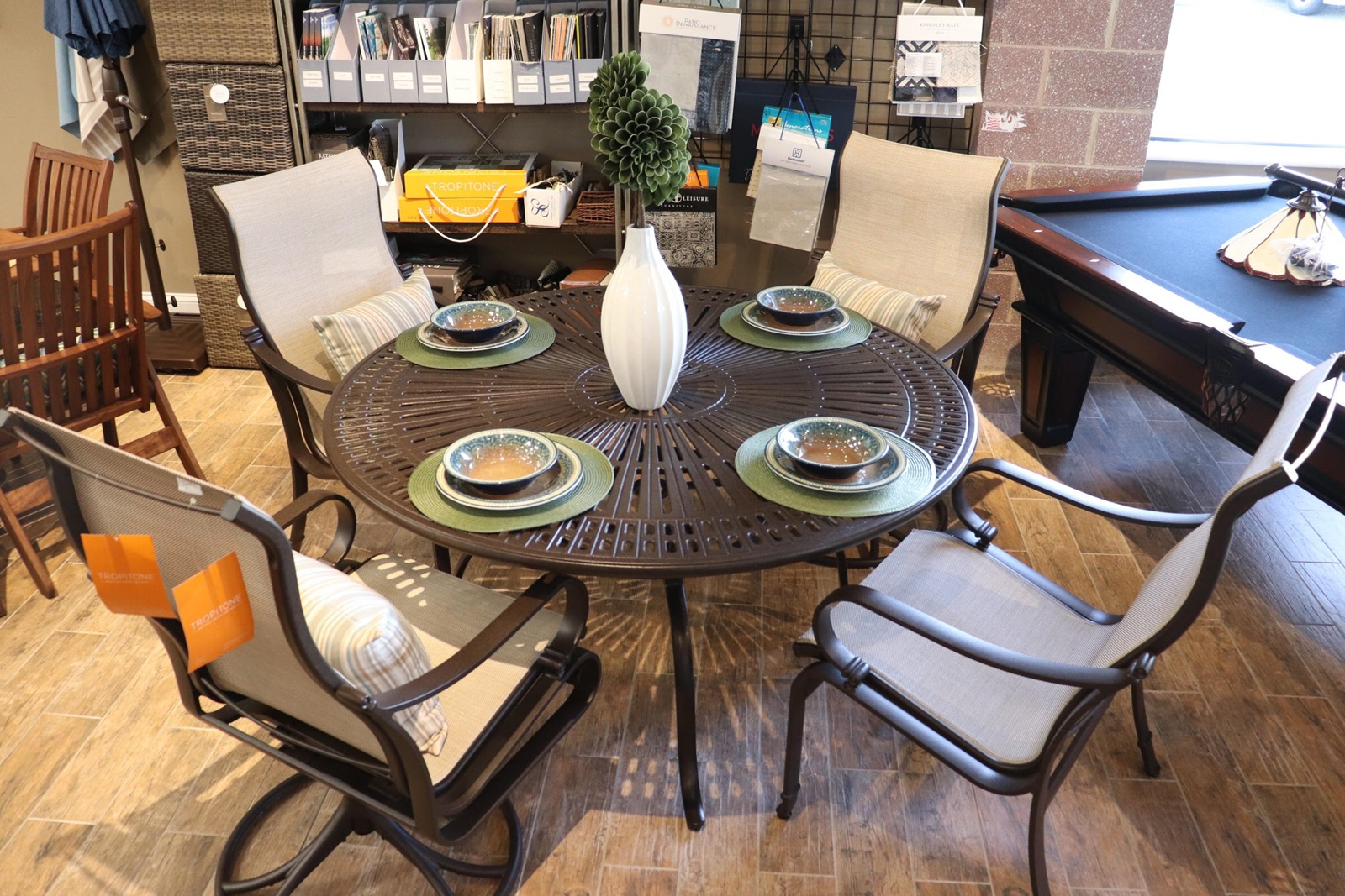 Prime Trop 55 Round Spectrum Dining Table With Torino Dining Gmtry Best Dining Table And Chair Ideas Images Gmtryco