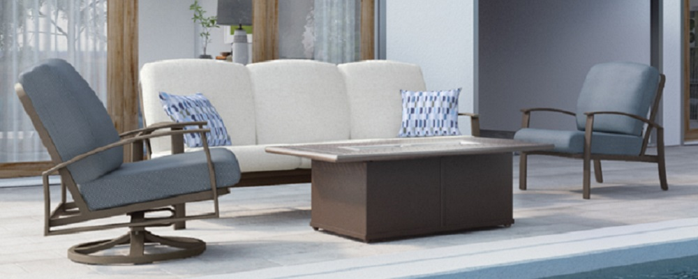 The MainSail Cushion Collection by Tropitone