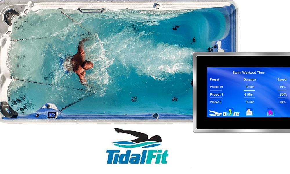 Tidal Fit Swim Spas Family Image