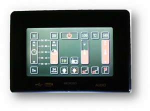 Finnleo S Series Sauna Touchscreen Control Panel