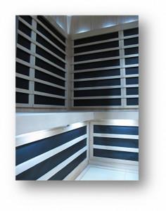 S810 Finnleo Sauna Interior