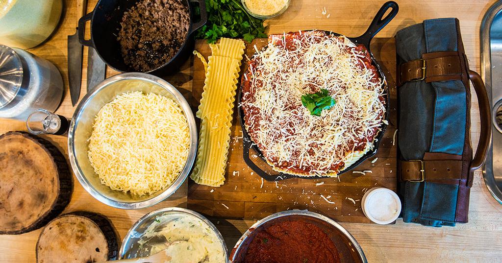 Traegered Lasagna – Traeger