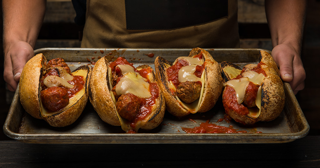 Smoky Meatball Subs – Traeger