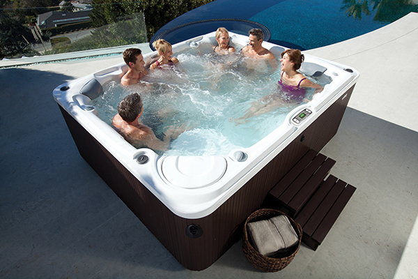 Residential Hot Tubs Family Image