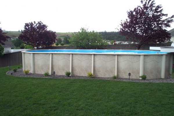 Residential Above-Ground Pools Family Image