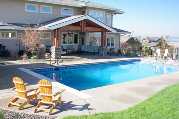 Engineered Concrete Wall Vinyl Lined Pools Family Image