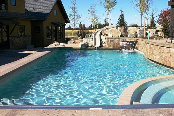 Gunite Inground Swimming Pools Family Image