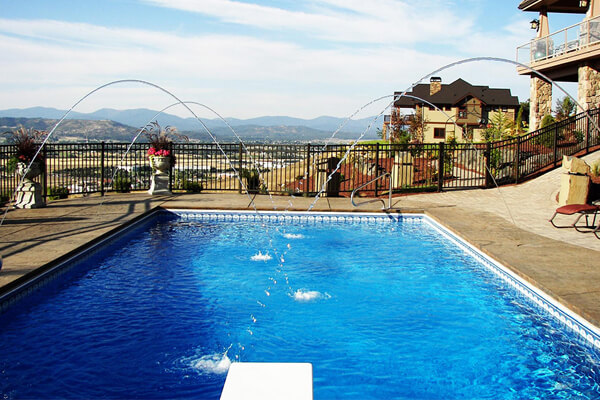 Steel Wall Vinyl Lined Pools Family Image