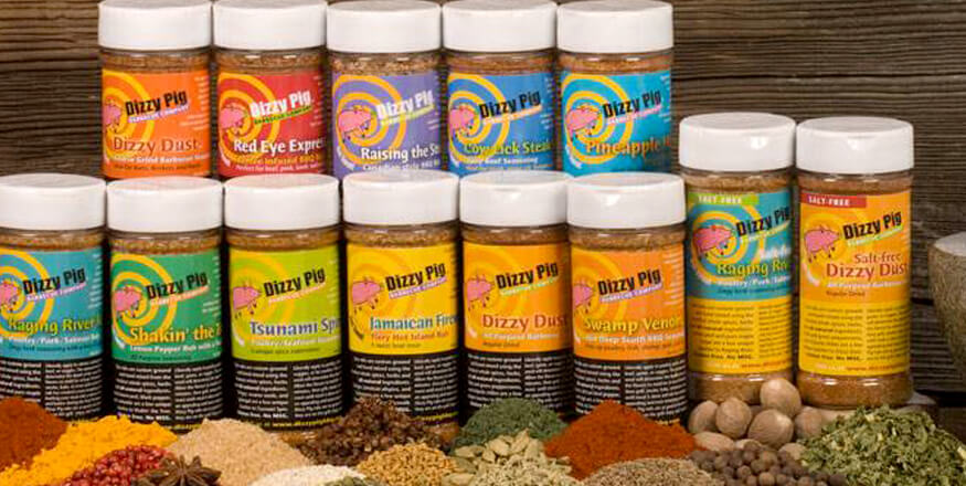 Dizzy Pig Spices & Rub Family Image