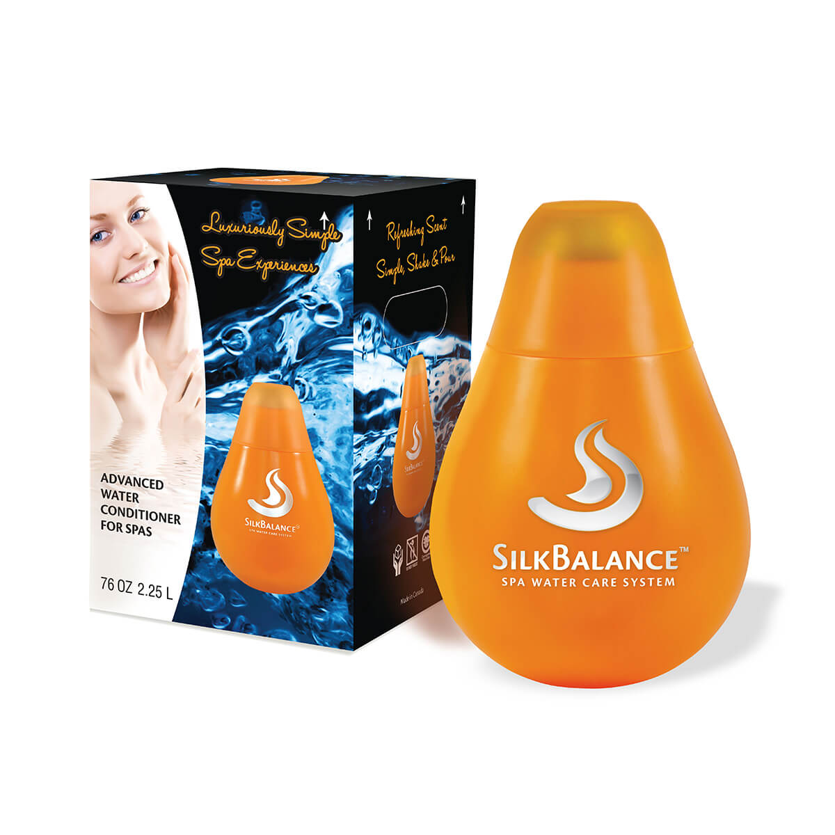 Silkbalance easy pour 76 38 ounce bottles pool world for Easy care pool products