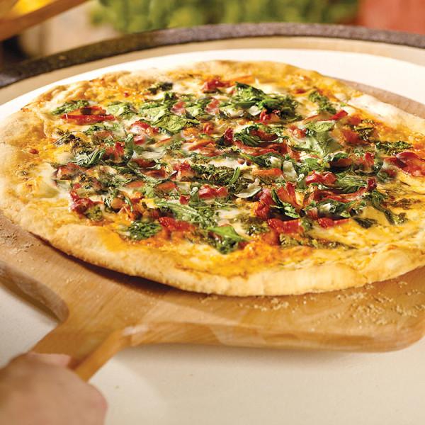 Pizza on Wood Peel