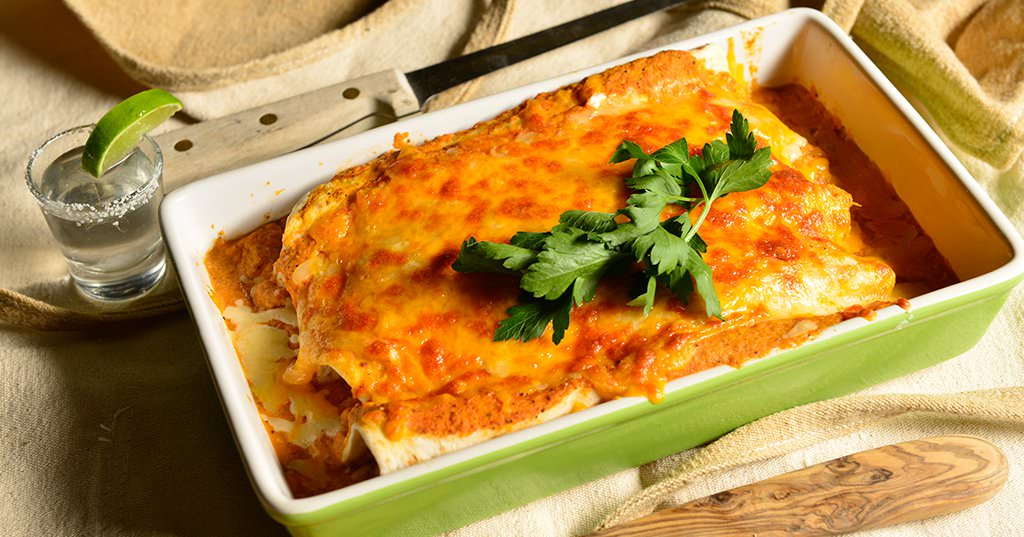 Pulled Pork Enchiladas – Traeger