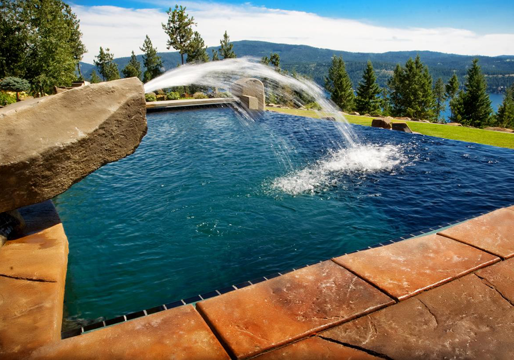 Gunite Concrete Swimming Pools - Pool World Spokane