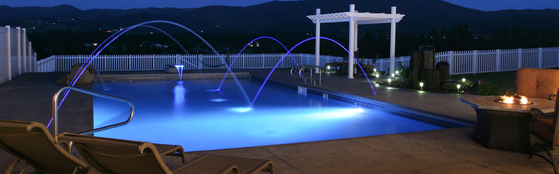 Residential In Ground Swimming Pools Pool World Spokane