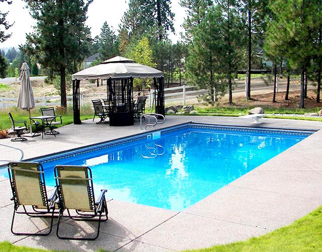 Steel Wall Vinyl Lined Swimming Pools - Pool World Spokane