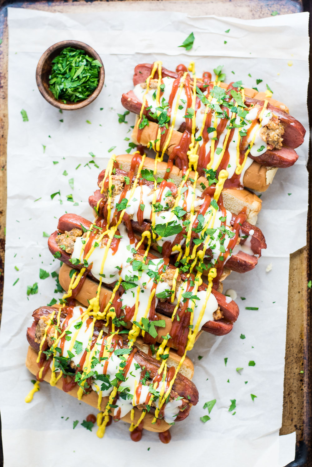 Bacon Cheeseburger Hotdogs – Big Green Egg