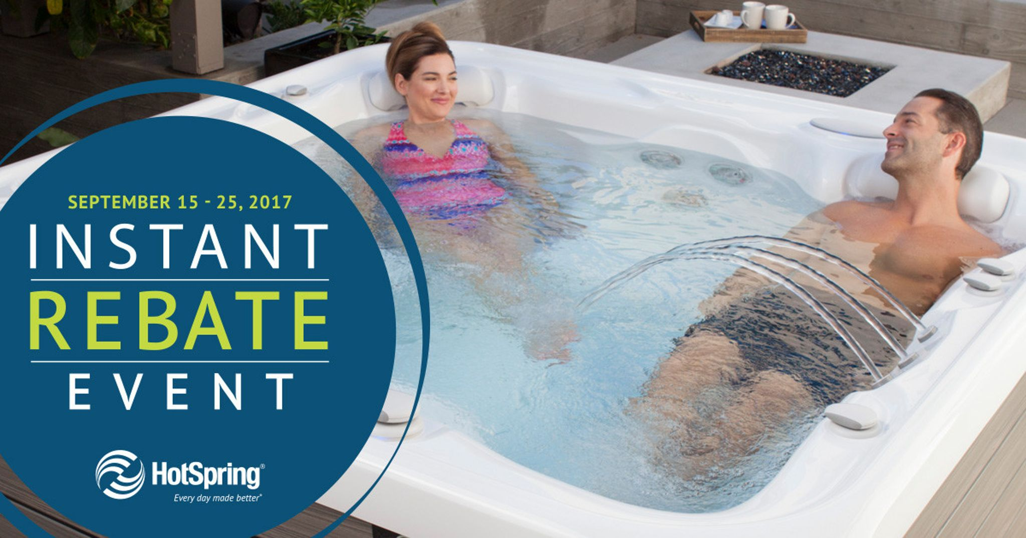 Hot Spring Instant Rebate Event