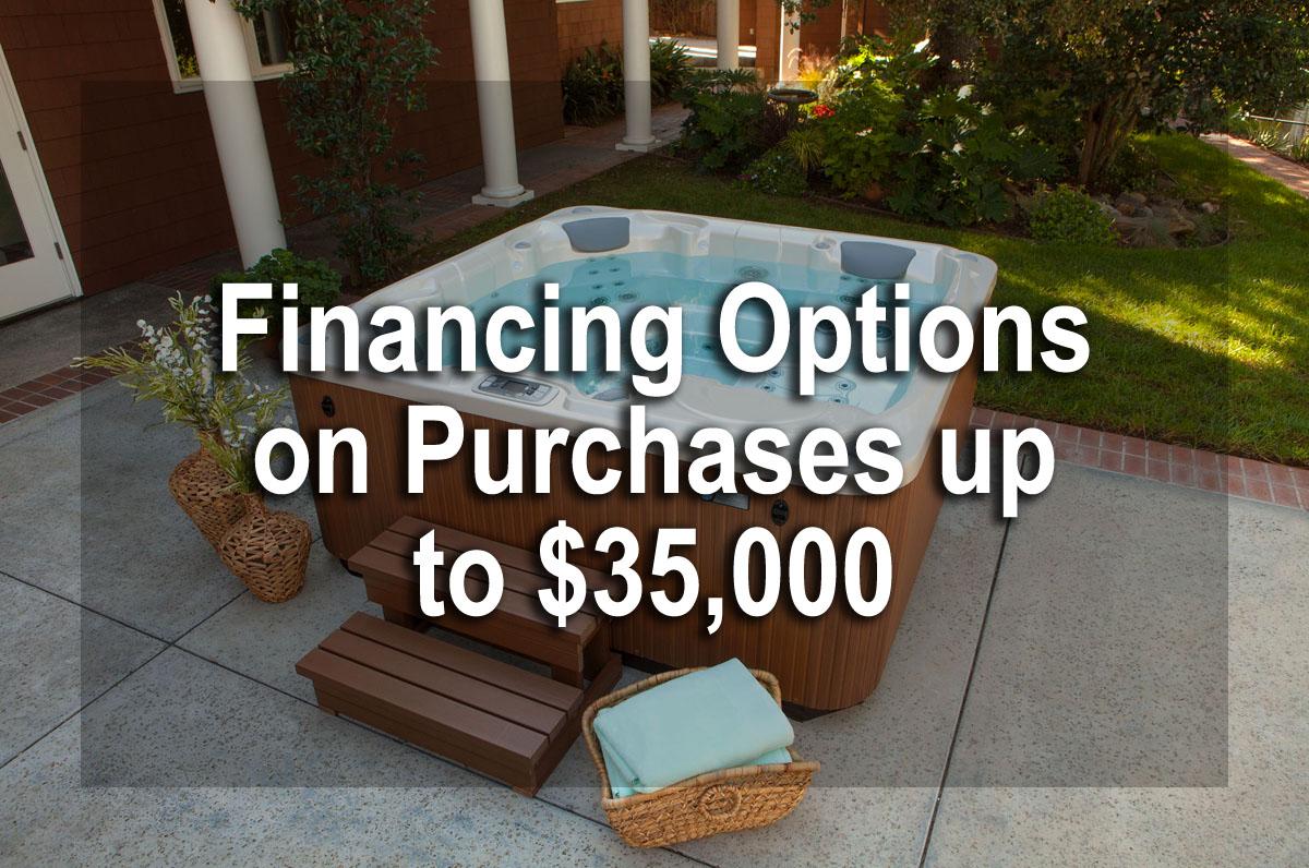 Financing - Pool World Spokane